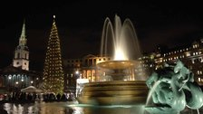Trafalgar Square Christmas Tree & Carols by James O Jenkins
