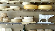 Christmas Greengrocers and Cheese Shops in London