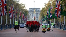 Service of Thanksgiving and Carriage Procession - Carriage Procession on The Mall
