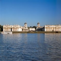 View of the Royal Naval College and Queen's House