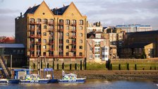 The Captain Kidd - Samuel Smith's riverside pub in Wapping