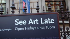 London Museums: Late Openings