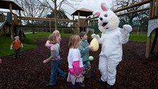 Easter Egg Hunt at Kew