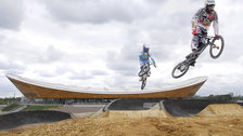 BMX Track - The BMC Track in action ahead of the Games