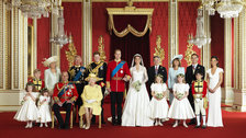 Royal Wedding Official Photograph by Hugo Burnand