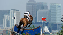 Greenwich Park - The Equestrian events will overlook Canary Wharf in Greenwich Park