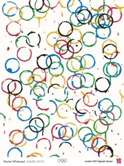 London 2012 Olympic and Paralympic Posters - Olympic posters: Rachel Whiteread's take on the Olympic Rings