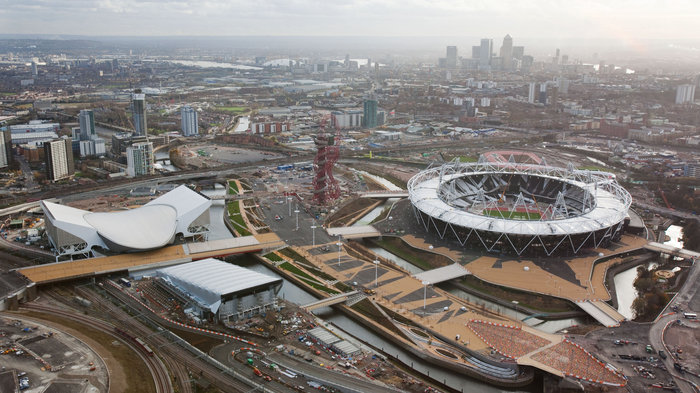 how to get to olympic park london