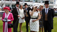 The Epsom Derby - The Royal Family at the Epsom Derby 2011