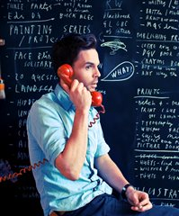 Oliver Jeffers by Malcolm Brown, 2013