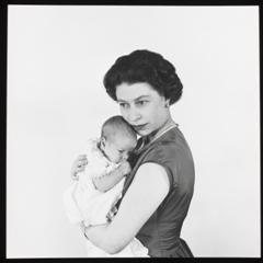 Queen Elizabeth II by Cecil Beaton: A Diamond Jubilee Celebration - Queen Elizabeth II with Prince Andrew, 1960