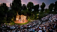 Little Shop of Horrors is at the Open Air Theatre by Alistair Muir