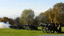 The Queen's Birthday Gun Salutes