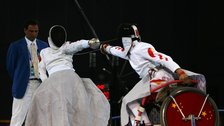 Paralympic Wheelchair Fencing