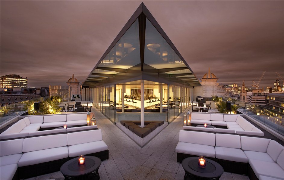 queen elizabeth roof garden cafe bar best rooftop bars in london london al fresco dining and drinking