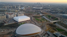 Venues Overview - Aerial view over the Olympic Park