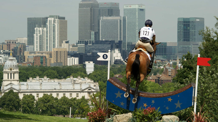 Equestrian events at Greenwich Park