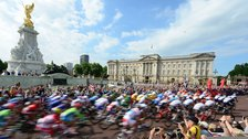 July in London 2014 - Olympic cycling 2012