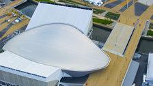Aquatics Centre In Pictures