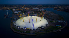 North Greenwich Arena by Jason Hawkes