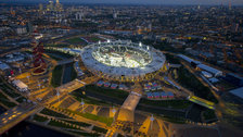 Olympic Stadium In Pictures