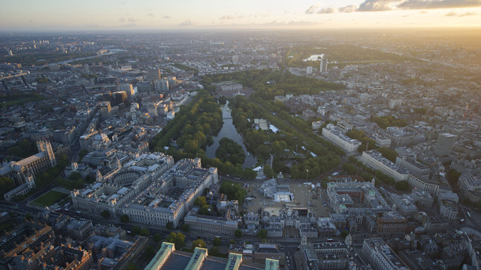 Hyde Park and The Mall