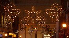 Kingston Town Centre Christmas Lights