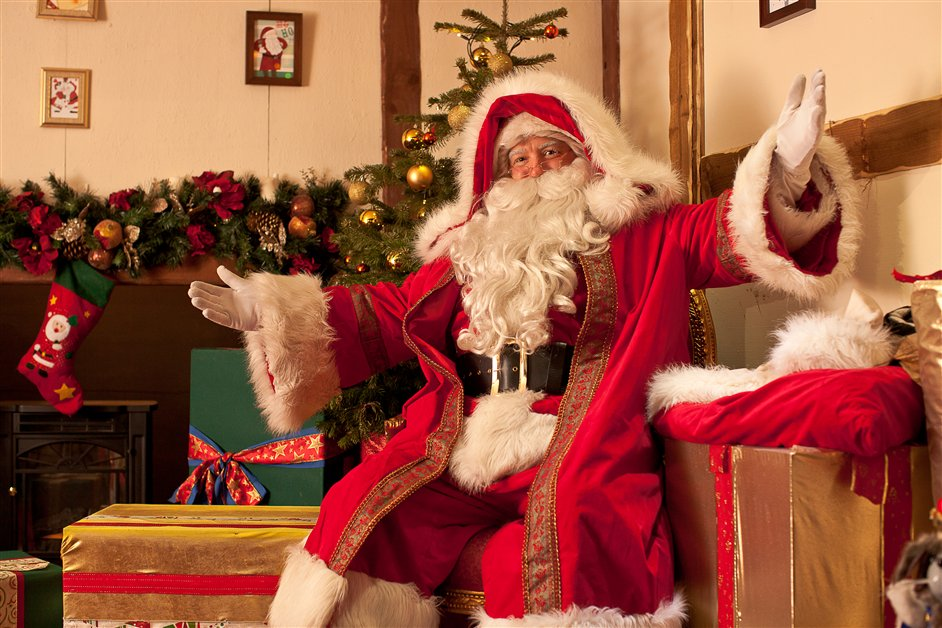 father christmas london selfridges 2012 best