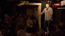 Top Secret Comedy Club @ The Africa Centre - Jason Manford performs at the Top Secret Comedy Club