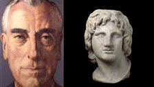 Louis Mountbatten at National Portrait Gallery - Louis Mountbatten and Alexander the Great