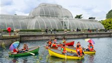 Kew Garden's Palm House Pond