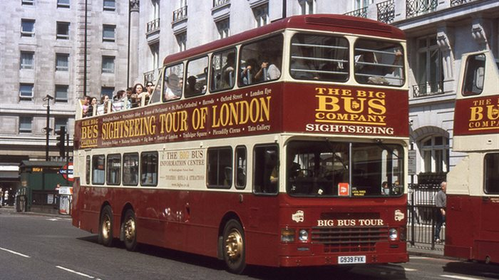 London Sightseeing Tour Bus Map