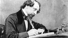 Dickens: a tale of one city - Portrait of Charles Dickens