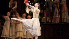The Royal Ballet: The Nutcracker - Elizabeth Harrod as Clara in The Nutcracker. Photo ROH, Johan Persson
