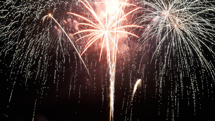 free firework displays london