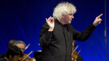 Sir Simon Rattle by Monika Rittershaus