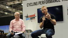 Sir Chris Hoy opens The London Bike Show