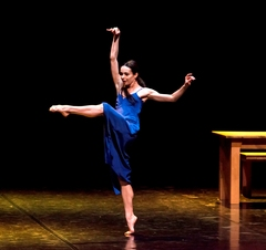 Diana Vishneva: On The Edge - Diana Vishneva in Carolyn Carlson's Woman in a Room by Gene Schiavone