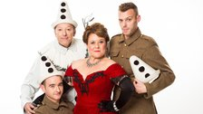 Oh What A Lovely War - Mark Prendergast, Ian Reddington, Wendi Peters, Marcus Ellard. Credit Helen Maybanks