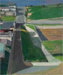 Richard Diebenkorn - Cityscape #1, 1963 by 2014 The Richard Diebenkorn Foundation