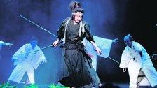 Ninagawa Company: Hamlet - Tatsuya Fujiwara - Credit Takahiro Watanabe