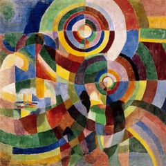 Sonia Delaunay - Prismes electriques 1914 by Pracusa