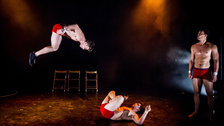 Barely Methodical Troupe: Bromance - Bromance at EdFringe 2014 by Alex Brenner