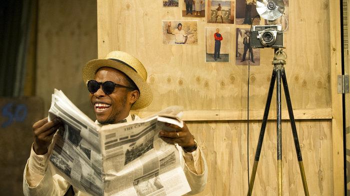 Sizwe Bansi is Dead - Photo by Richard Hubert Smith