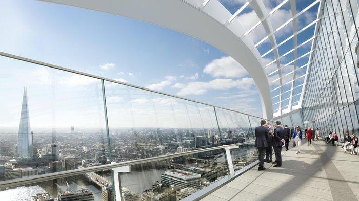 The Sky Garden opens October 2014