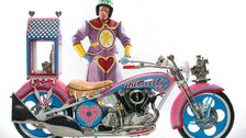 Being A Man - Grayson Perry, Kenilworth AM1, 2010, Motorcycle built by Battistini by Grayson Perry