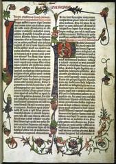 Parabole or Proverbs of the Gutenberg Bible. Mainz,1455. © British Library Board