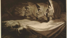 The Three Weird Sisters from Macbeth, 1785 - (c) The Trustees of the British Museum