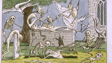 Tales of Terror, Matthew Lewis, published 1808 - (c) British Library Board