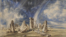 Stonehenge,Watercolour c.1835 John Constable - (c) Victoria and Albert Museum, London